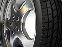 rh wheel porsche 3d model