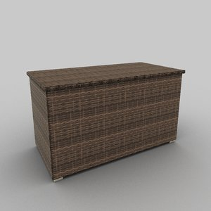rattan seat set 04 3ds