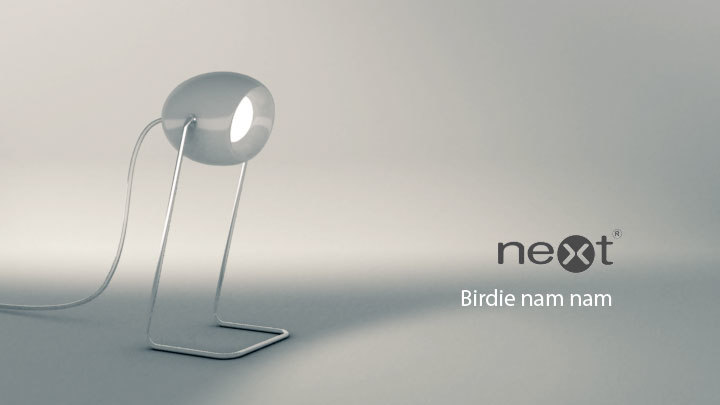 3d model birdie nam