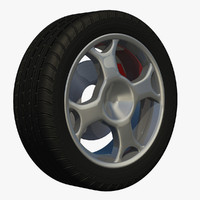 3d sport spoke rim wheel