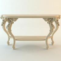 table console classical 3d max