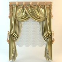 Elegant Baroque Wide Curtains