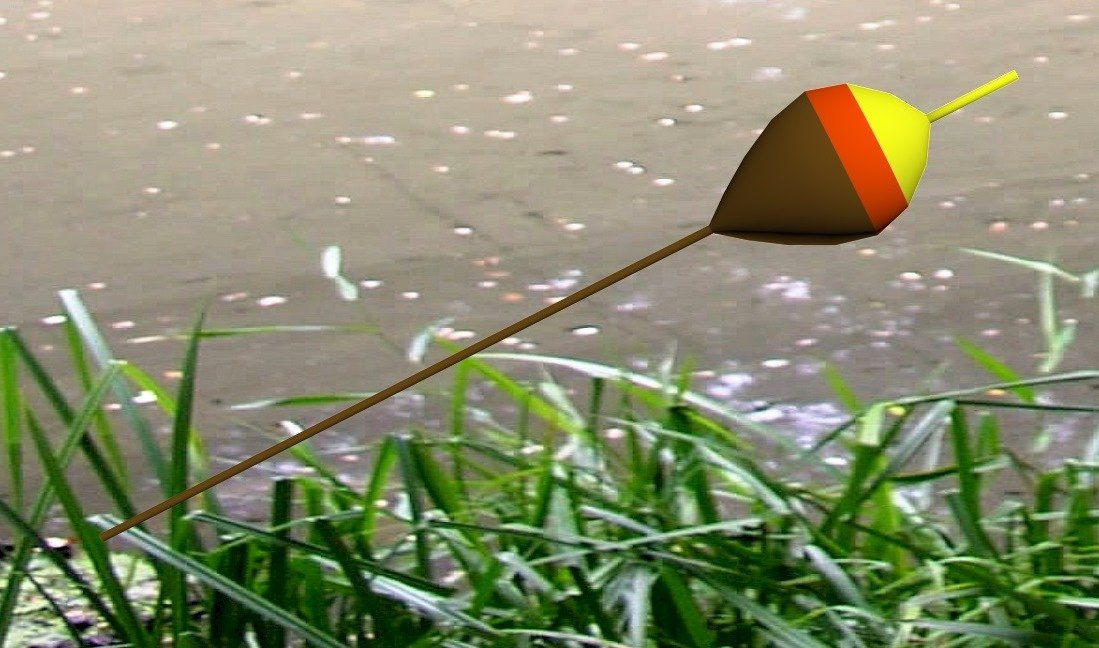 3d model fishing float
