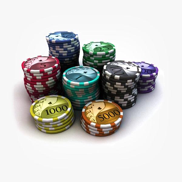 obj poker chips