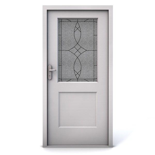 3d terma entrance door 3 model