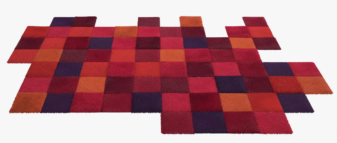 nanimarquina do lo rez rug 3d model. Black Bedroom Furniture Sets. Home Design Ideas