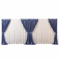 High Poly Curtain