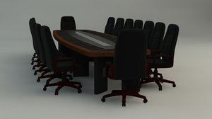 c4d conference table