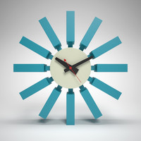 George Nelson Block Clock