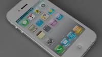 3d model of phone 4s
