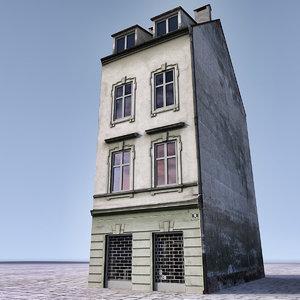3d 3ds european building europe