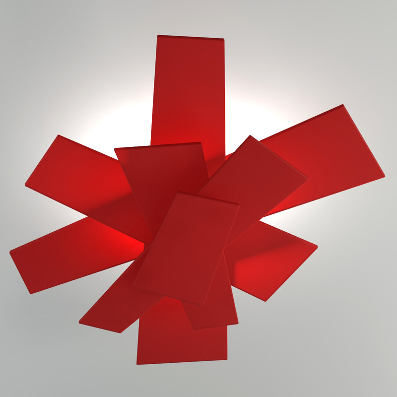 3d model foscarini big bang