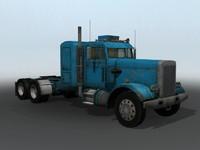 max semi truck old