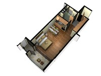 3D Floor Plan Doll House View 01