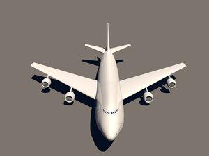 c4d boeing 747-400