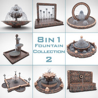 Fountain Pack 8 in 1 part 2