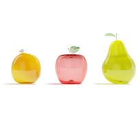 fruits glass obj