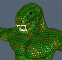 character snake 3d model