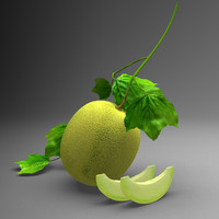 honey dew 3d max