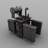 3d electric model