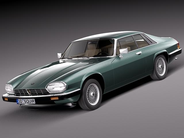 3d model xjs coupe 1975 sport