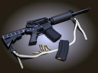 3ds max m4a1 carbine m4