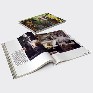 3ds magazines designed journals