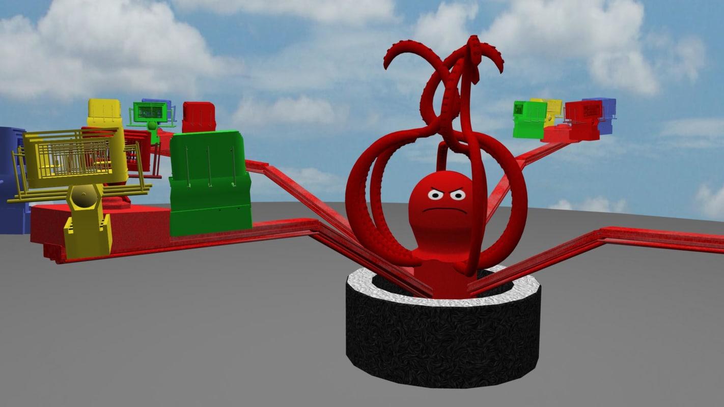 carnival ride octopus ma