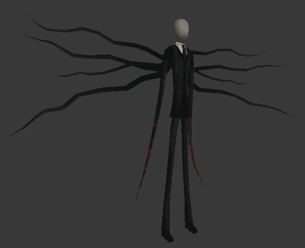 free slender man 3d model