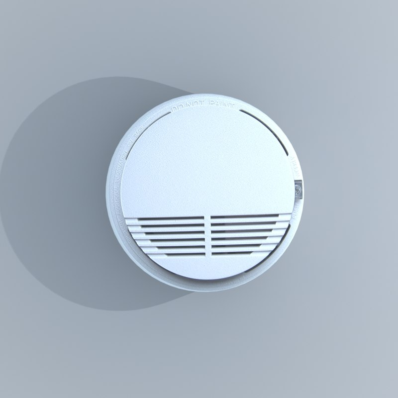 3d smoke alarm detector