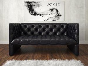 3d sofa chesterfield edwards model