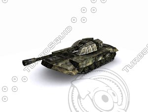 3d max tanks cannon