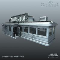Vintage 1930's Diner1