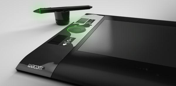 3ds max wacom tablet