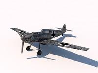 3dsmax messerschmitt bf 109
