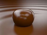 3ds max bonbon chocolate