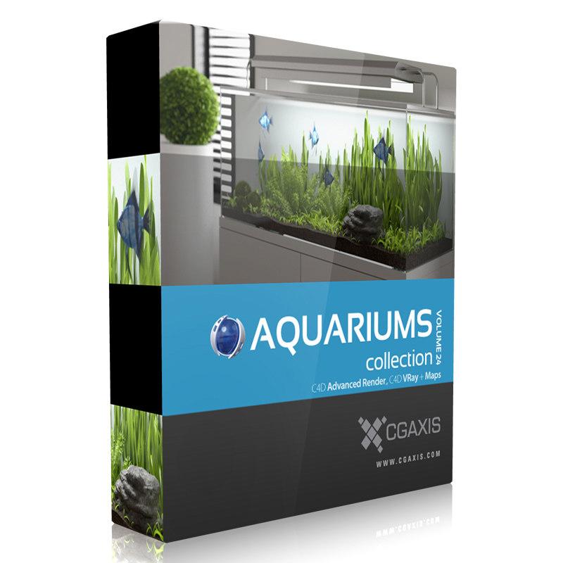 cinema4d volume 24 aquariums