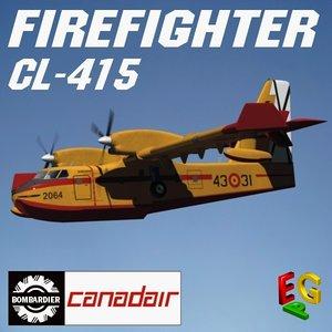 canadair cl 415 max