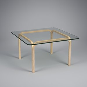 glass table y805a b 3d model