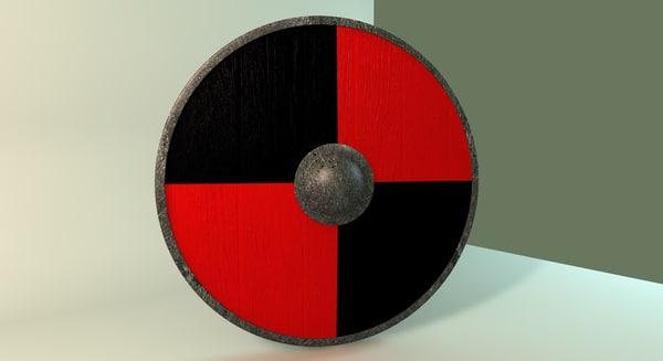 old viking shield c4d free