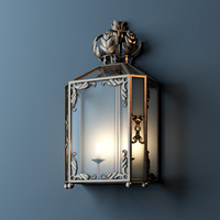 3d model classic sconce