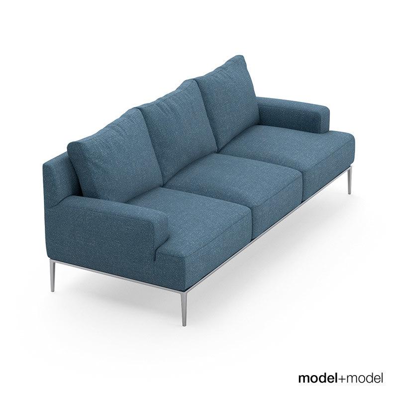 obj b italia jean sofa