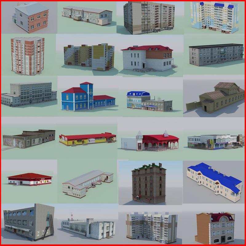 max set polygonal houses