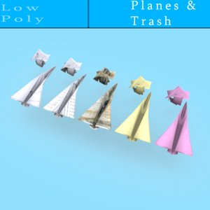 free max model paper airplanes