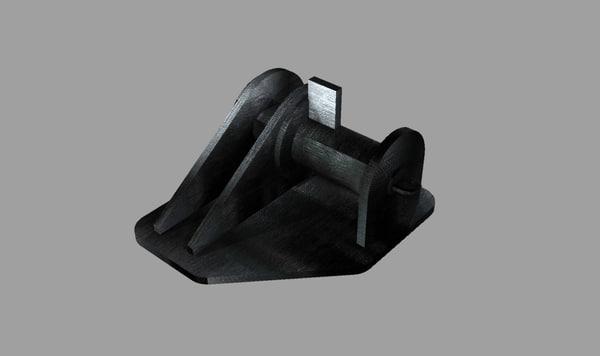 3d ship smit bracket model