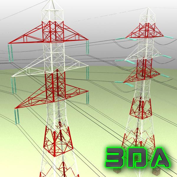 voltage electricity pylon tower max