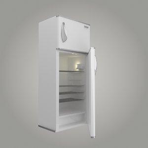 3d model refrigerator frige