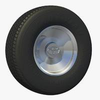 3d wheel suv rim uv