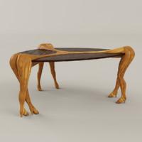 3ds table interior design