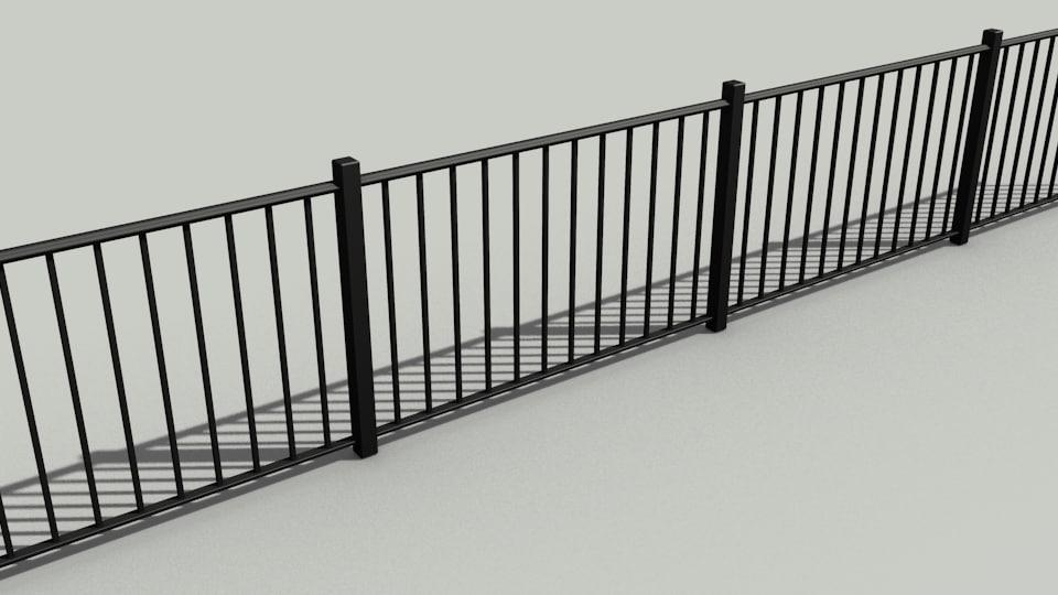 blend bar fence